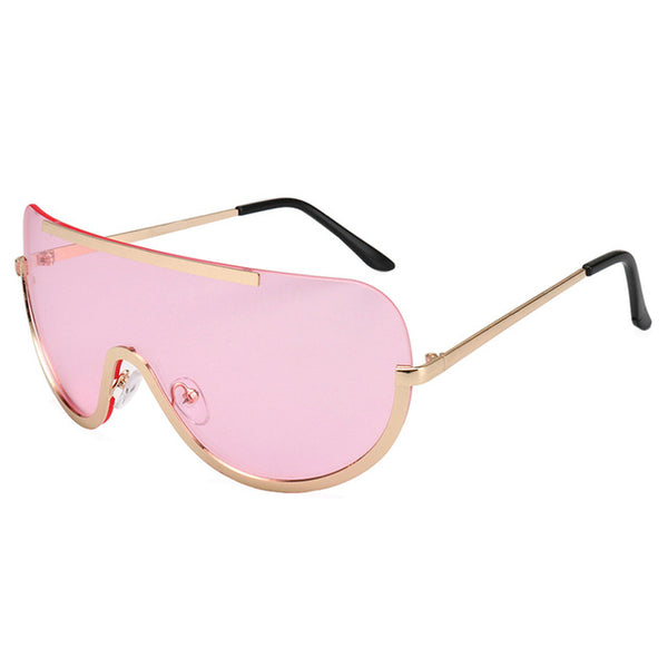 Retro Inspired Oversized Womens Sunglasses
