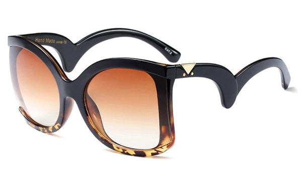 Women Vintage Big Shades