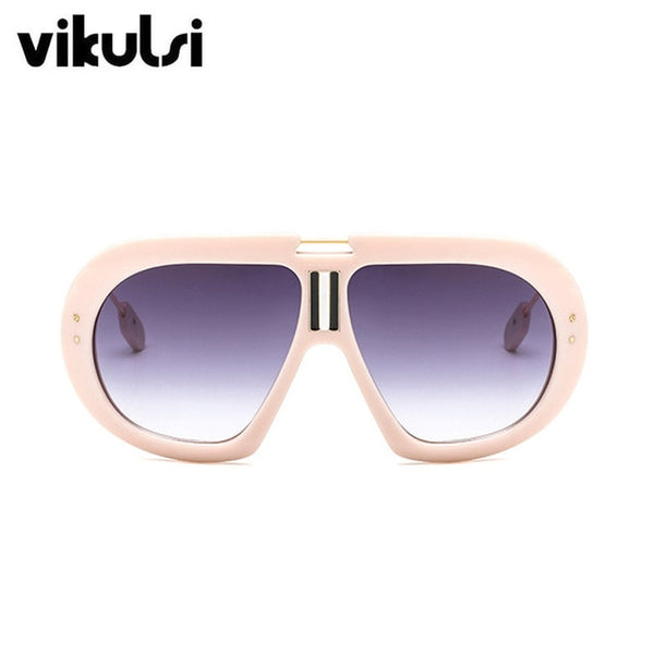 Retro Stylish Oversized Sunglasses