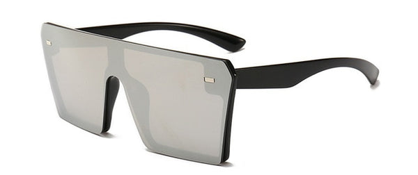 Square Oversized Flat Top Shades