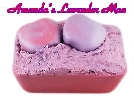 Amanda's Lavender Mac - Mini Wax Loaf - Epic Wax