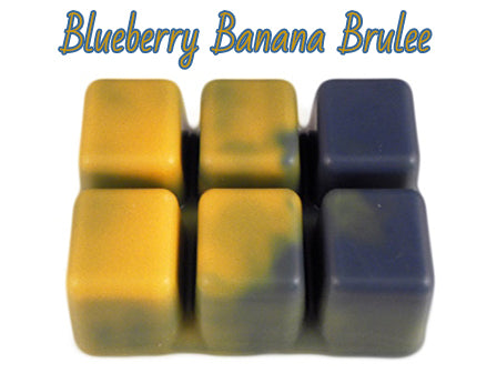 Blueberry Banana Brulee - Scented Wax Melts - Epic Wax