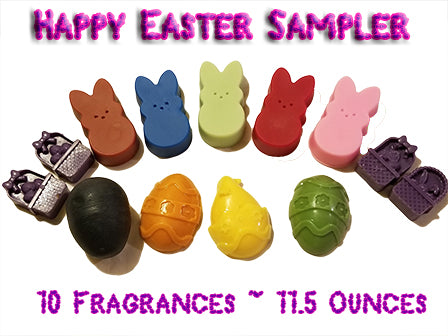 Happy Easter Sampler - Epic Wax