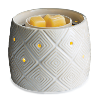Geometric Illuminaire Fan Fragrance Warmer - Epic Wax