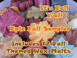 It's Fall Y'all Sampler ~ Autumn Leaf 12 Pack - Epic Wax