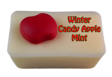 Winter Candy Apple Mint ~ 4 Ounce Mini Loaf - Epic Wax