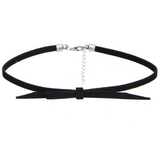 A Set of Gorgeous PU Leather Choker Necklace