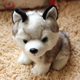 Playful and Adorable Siberian Husky Plush Toy