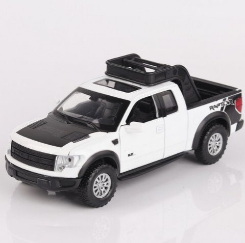 Ford F150 Pickup Truck Metal Toy Car Model