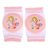 Baby Elbow And Knee Pads with Animal Cartoon Designs