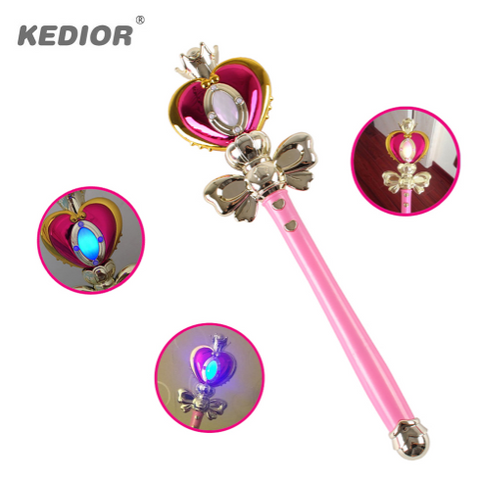 Sailor Moon Heart-Shaped Magic Wand Toy