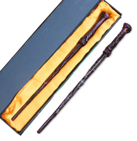 Hogwarts Dumbledore Mediumistic Magical Wand Ideal for Harry Potter Costume