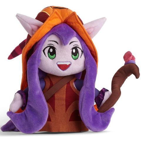 Colorful Witch Plush Stuffed Toy
