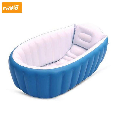 Portable Inflatable Blue Pink Baby Bathtub