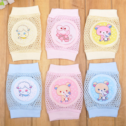 Infant Knee Pads with Anti-Slip Crawling Protector