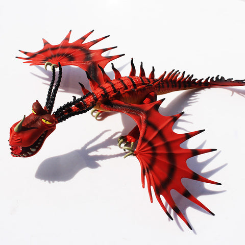 Glowing PVC Dragon Toy Action Figure