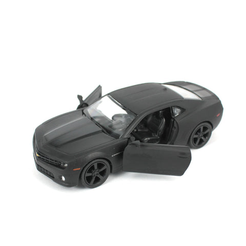 Black Chevrolet Camaro Alloy Pull Back Toy Car Model