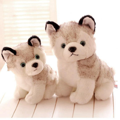 Cute Cotton Husky Dog Plush Toy