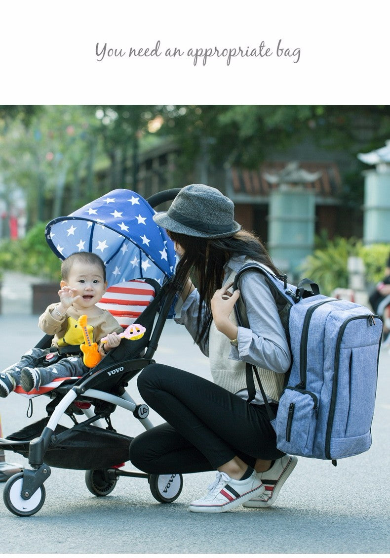 Cool diaper bag and backpack