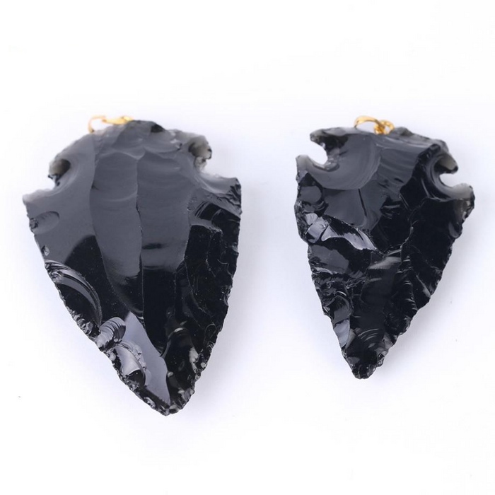 Black Obsidian Healing Charms Pendant - eBabyZoom