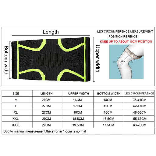 Elastic Compression Knee Sleeve