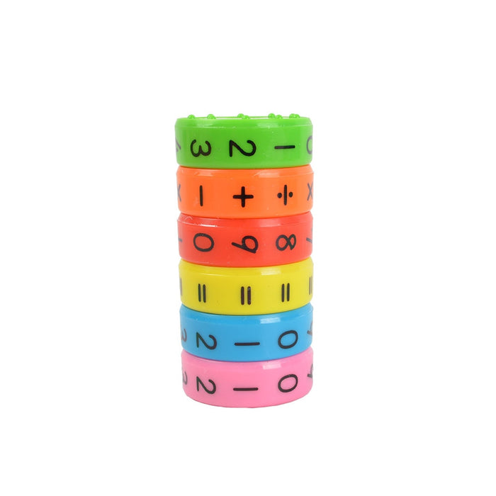 Math Numeral Cylinder Learning Toy - eBabyZoom