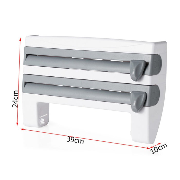 4-In-1 Kitchen Roll Holder Dispenser - eBabyZoom