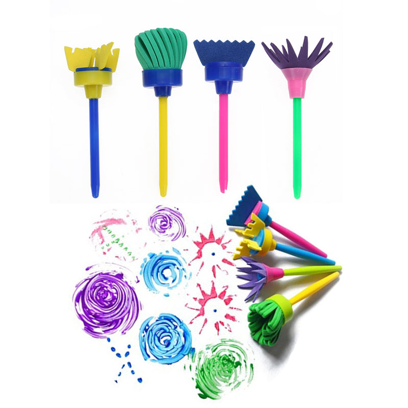 Creative Rotating Sponge Brushes - eBabyZoom