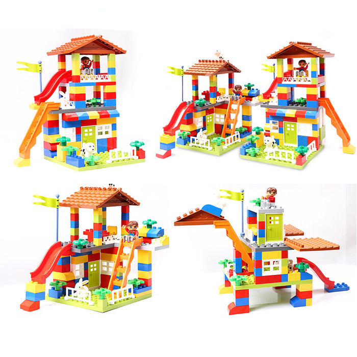 City House Building Blocks Castle - eBabyZoom