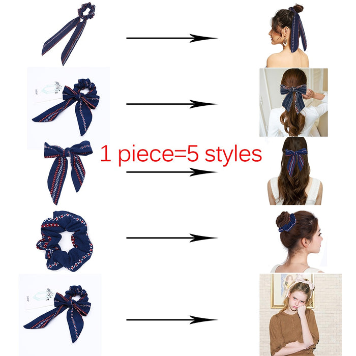 Handmade Fashion Ribbon Horsetail Tie - eBabyZoom