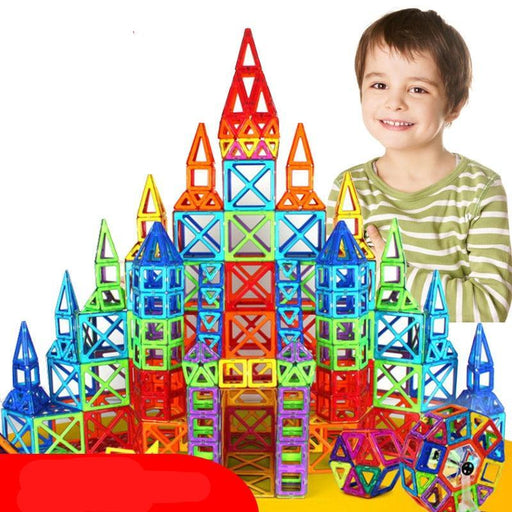 Educational Magnetic Building Blocks