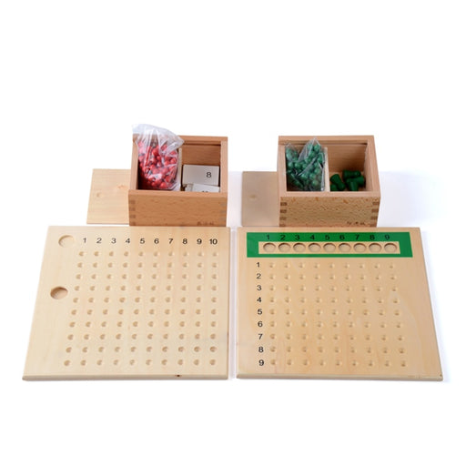 Montessori Multiplication Bead Board - eBabyZoom