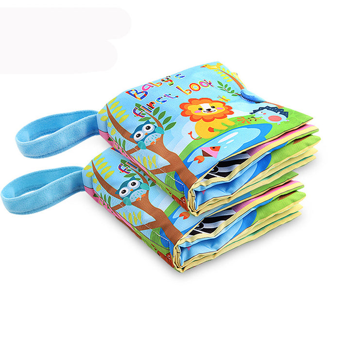 Baby Unfolding Activity Books - Stereoscopic Animals - eBabyZoom