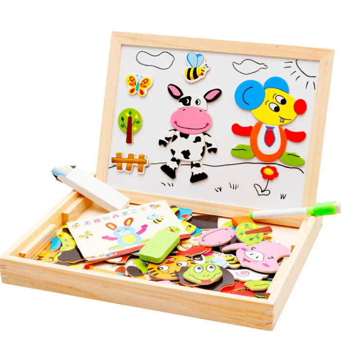 Magnetic Jigsaw Puzzle Drawing Board - eBabyZoom