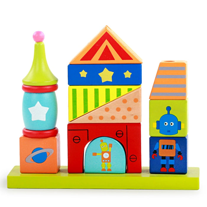 Baby montessori creative building blocks - eBabyZoom