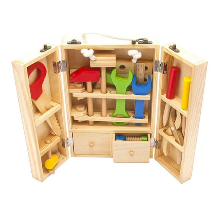 Montessori learning tool screw assembly box - eBabyZoom