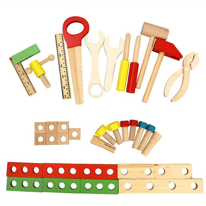 Montessori learning tool screw assembly box