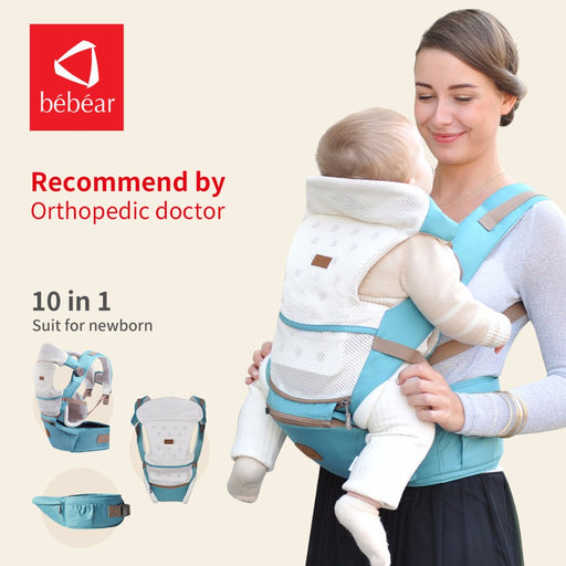 Bebear 6 in 1 Ergonomic baby carriers - eBabyZoom