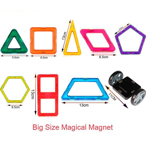 Magical Giant Magnetic Construction Blocks