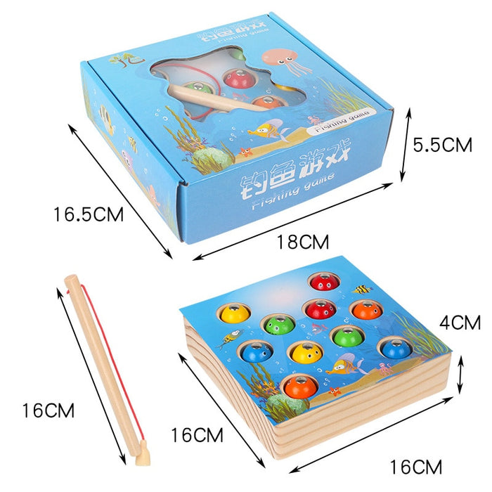 Montessori Magnetic Fishing set - eBabyZoom