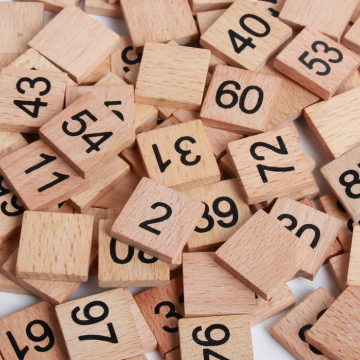 Consecutive Numbers Wooden Board - eBabyZoom