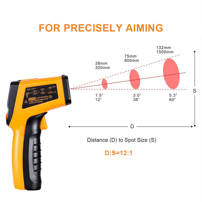IR Infrared Digital Surface Thermometer - eBabyZoom