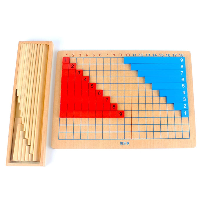 Montessori Arithmetic Add Subtract Board - eBabyZoom