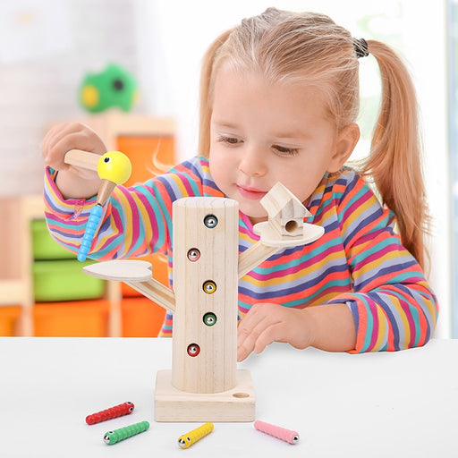 Montessori magnetic Insects catching Tree - eBabyZoom