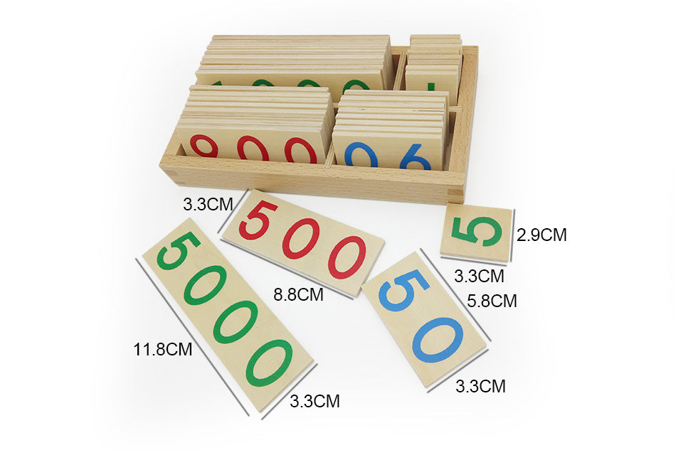 Montessori Numeracy Cognition Teaching aids - eBabyZoom