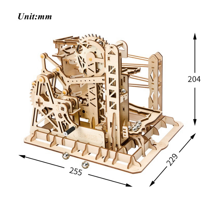 DIY Wooden Waterwheel Building Kits