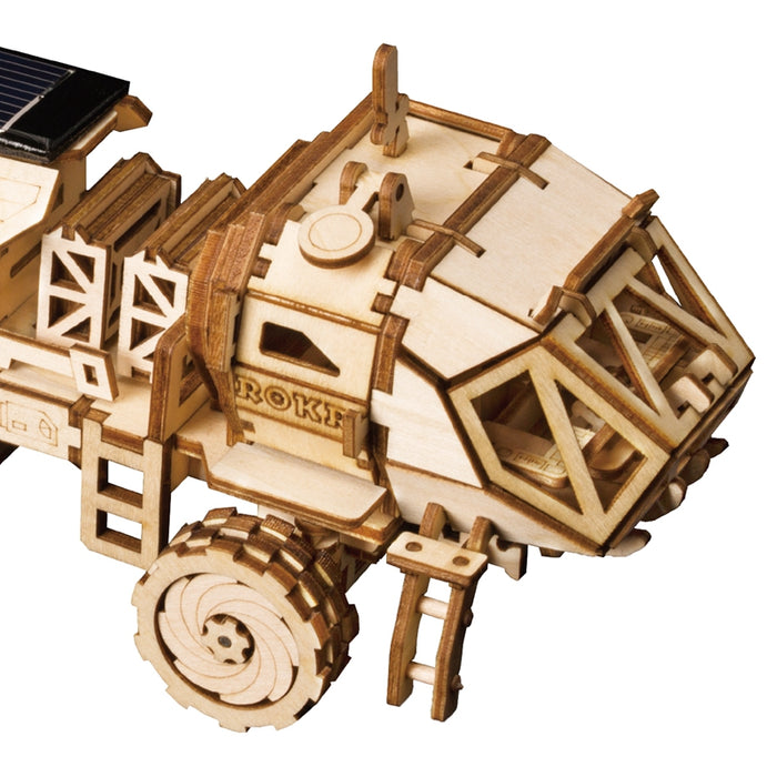 Creative DIY 3D Space Powered Model Kits