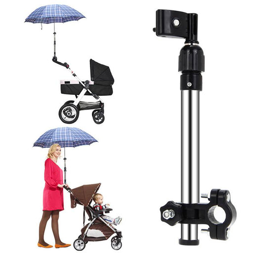Adjustable Baby Stroller Umbrella Holder - eBabyZoom