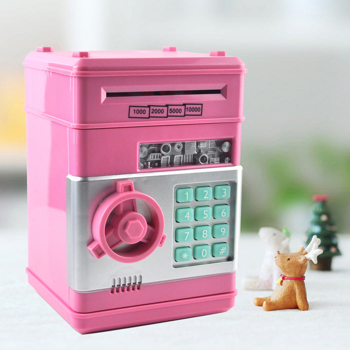 Mini Electronic Piggy Bank Safe Toy - eBabyZoom