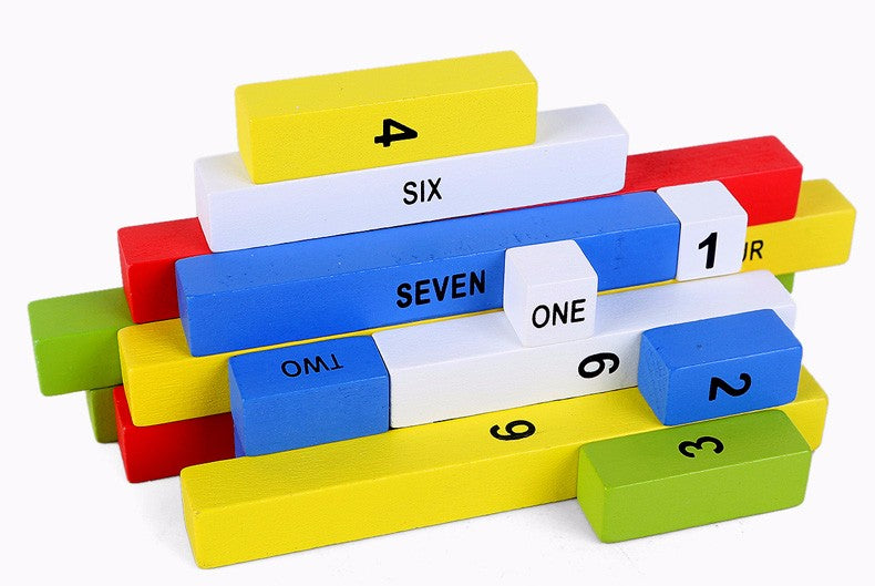Montessori Cognitive Arithmetic Blocks - eBabyZoom